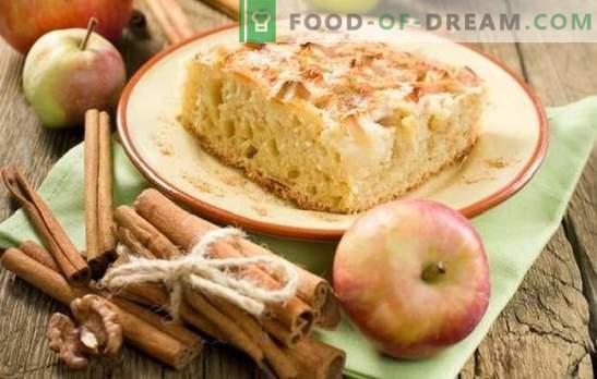 Charlotte z jabolki in cimetom je priljubljena torta na nov način. Kako kuhati charlotte z jabolki in cimetom: nove ideje