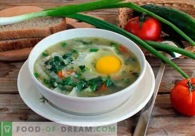 Juha iz koprive - dokazani recepti. Kako pravilno in okusno kuhano juho iz koprive.