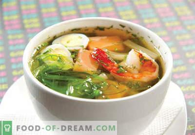 Miso juha - dokazani recepti. Kako pravilno in kuhano miso juho.