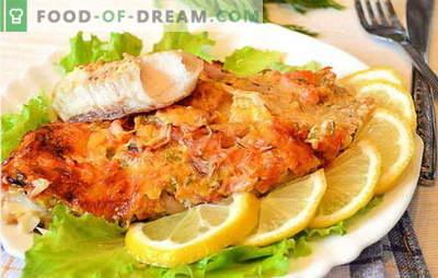Cum să gătești fileuri de pește în cuptor este gustos și ușor? O selecție de rețete din fileul de pește în cuptor: cu cartofi, în folie, originale