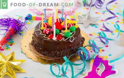 Pripravljamo torto doma za naš rojstni dan (fotografija)! Recepti za različne domače rojstnodnevne torte s fotografijami