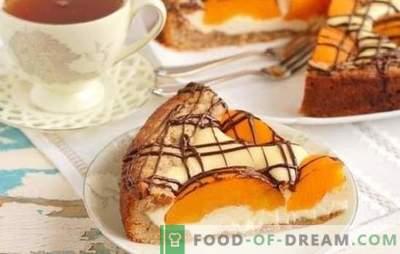 Kralj čaja: konzervirana breskova pita. Pita z recepti v pečici in počasen štedilnik