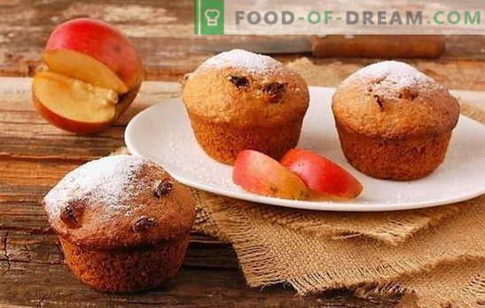 Applecake - izbira sladokuscev. Kako presenetiti z okusno jabolko in sadno torto za goste in gospodinjstva: hitre recepte