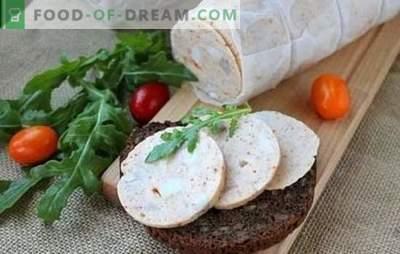 Salsicha caseira: receita passo-a-passo. Como fazer salsicha caseira de verdade - passo a passo receitas de ingredientes naturais