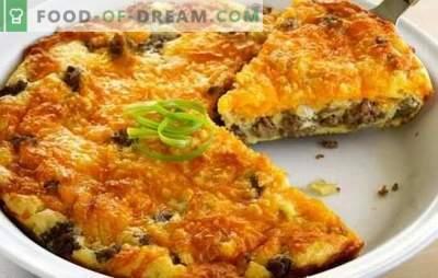 Nadevska kaša - peka brez napetosti! Recepti za hitro, hranljivo, okusno pite z mletim mesom in drugimi nadevi