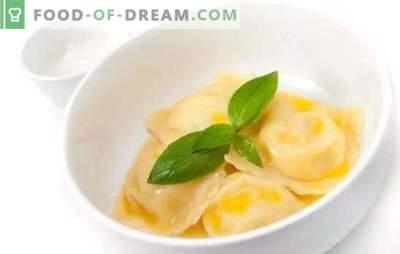 Krompirjevi cmoki: recepti korak za korakom za najljubšo jed. Kuhanje okusnih cmokov s krompirjem po receptih po korakih