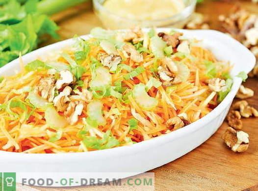 Vitaminska solata iz zelja - najboljši recepti. Kako pravilno in okusno pripraviti vitaminsko solato iz zelja.