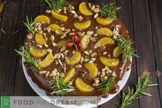 Sadna torta s čokoladno kremo