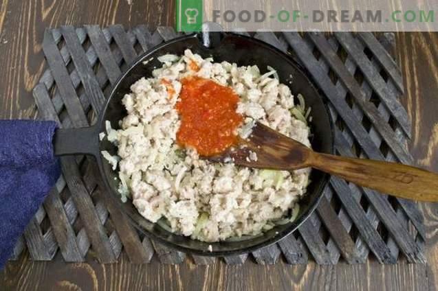 Debela omaka za mleto meso za testenine