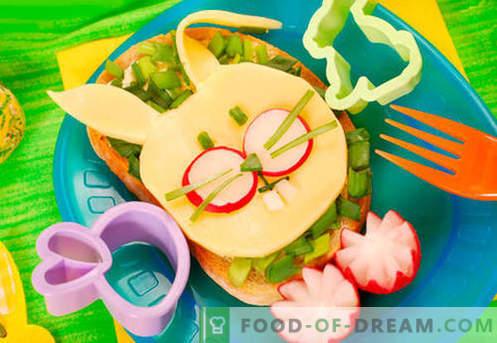 Otroški sendviči so najboljši recepti. Kako hitro in okusno kuhamo otroške sendviče.