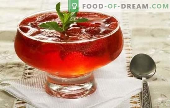 Lahka in okusna sladica - žele iz marmelade. Preprosti in izvirni recepti za želatino iz želatine in marmelade