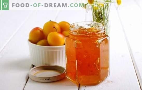 Pekmez češnjeve slame z oranžnim vonjem - aroma citrusov po urnem mehanizmu! Recepti za različne džemove češnjeve slame z pomarančami
