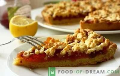 Torta di mele grattugiata è una meraviglia culinaria semplice. Le migliori ricette per torta grattugiata con mele e noci, banane, mandorle