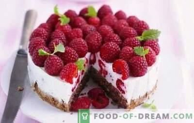 Malina torta je poletna skušnjava za sladkarije. Recepti za maline poletne torte: maline v sladici - življenje je dobro!