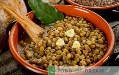 Lęšių košė yra sveikas ir neįprastas patiekalas kiekvieną dieną. Įvairūs lęšių košės receptai sveikatai ir džiaugsmui