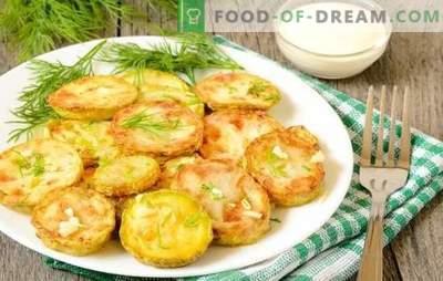 Prigrizki iz bučk s česnom - svetli in okusni. Sorte predjedi z bučkami s česnom: pecivo, pecivo, kaviar, solate