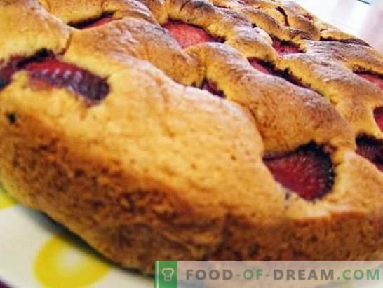 Peka z jagodami: recepti s fotografijami in majhnimi triki. Izbor izjemnih receptov za peko z jagodami: fotografija
