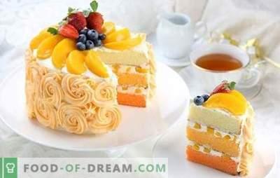 Peach torta je sladek zob! Recepti različnih peciv z breskvami za okusne radosti