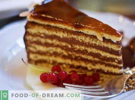 Torta iz tortice - najboljši recepti. Kako pravilno in okusno narediti torto iz pogače.