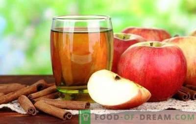 Sok z jabłek bez sokowirówki jest przydatnym naturalnym napojem. Najlepsze przepisy na sok z jabłek bez sokowirówek
