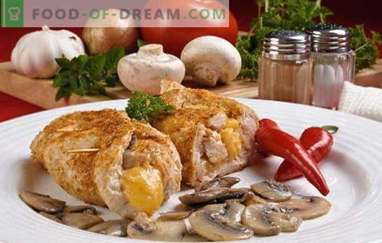 Kotleta z gobami - v vseh okusih! Različne vrste mesnih kroglic z gobami: navadne, polnjene, puste, mesne in piščančje