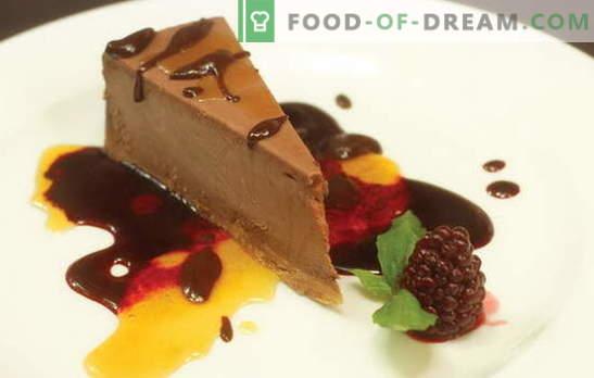 Čokoladni kolač - sladica z nenavadnim okusom in aromo! Najboljši recepti za čokoladne kolače s peko in brez peke