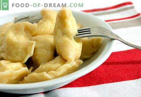 Popečeni cmoki so najboljši recepti. Kako pravilno in okusno kuhane jabolčne cmoke doma.