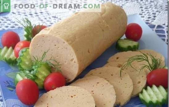 To ni GOST! Domače piščančje klobase - veliko boljše in cenejše! Tradicionalni in izvirni recepti za domače piščančje klobase