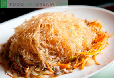 Rižni rezanci so najboljši recepti. Kako pravilno in okusno kuhati riževe rezance doma.
