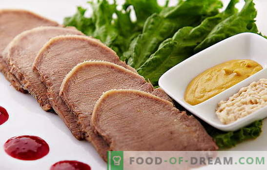 Cook beef tongue: juicy, tasty and according to all the rules! But how much time to cook beef tongue and how to do it?