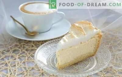Les larmes d'ange: une recette étape par étape pour le dessert le plus délicat. Les secrets de la fabrication d'un gâteau ou d'une tarte «Les larmes de l'ange», recettes étape par étape