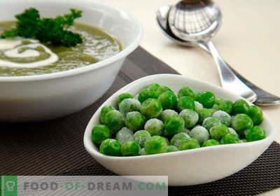 Juha z zelenim grahom - dokazani recepti. Kako pravilno in okusno kuhamo juho z zelenim grahom.