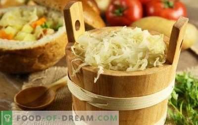 Hitro kislo zelje: triki, namigi. Kuhanje hitre kislega zelja s korenjem, česnom, papriko