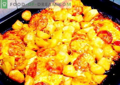 Krompir v francoščini - najboljši recepti. Kako pravilno in okusno kuhati krompir v francoščini.