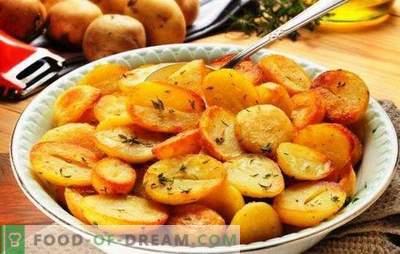 Pečeni krompir v počasnem štedilniku: hrustljavi, dišeči. Najboljši recepti za ocvrti krompir v počasnem štedilniku s čebulo, gobami, česnom