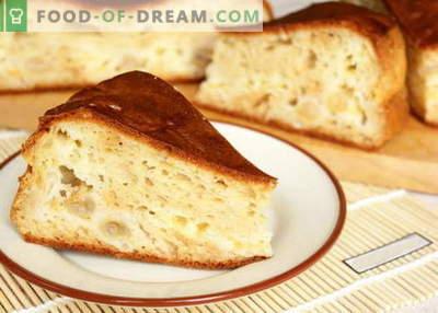 Kefir pie - najboljši recepti. Kako pravilno in slastno kuhati torto na kefir.