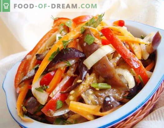 Korejske solate - najboljši recepti. Kako kuhati korejske solate in okusne.