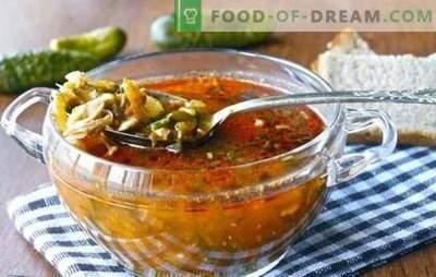 Krastavac brez ječmena - nove različice znane jedi. Recepti za kumarice brez ječmena z drugimi žitaricami in zelenjavo