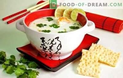 Kokosova juha - okusna vstopnica za eksotična potovanja! Avtorski recepti za sladke, slane in začinjene juhe s kokosovim mlekom