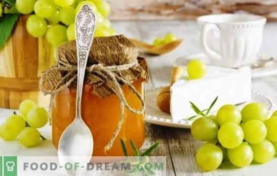 Gredice grozdja za zimo - za vse! Izbor vitaminskih pripravkov grozdja za zimo