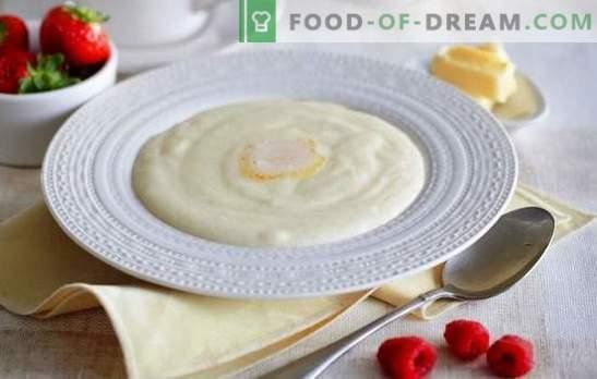Kaša z grizom z mlekom - dobro jutro! Kako kuhati zdrob v mleku, tako da je kaša izkazalo okusno in brez grudic