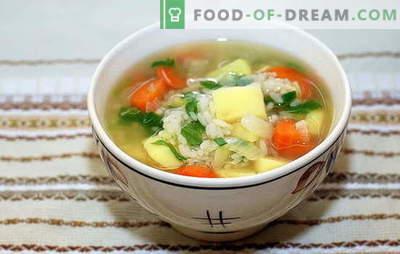 Zupa z ryżem i ziemniakami: szybka, smaczna i zdrowa. Gotowanie zupy z ryżem i ziemniakami to prosty i szybki proces