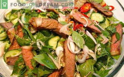Meso s kumarami - najboljši recepti. Kako pravilno in okusno kuhati meso s kumaricami.