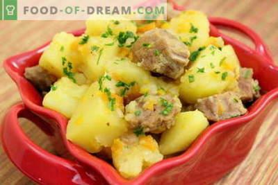 Krompir z mesom v počasnem štedilniku - najboljši recepti. Kako pravilno in okusno kuhati krompir z mesom v počasnem štedilniku.