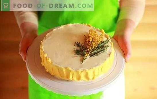 Cake Cream: Postopni recepti za domače sladice. Kuhanje sladkih in zračnih krem za torte z recepti po korakih
