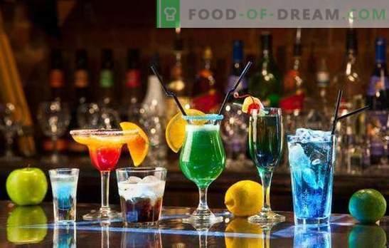 Alkoholni novoletni koktajli: TOP-5 receptov. Kako čudovito frkati?
