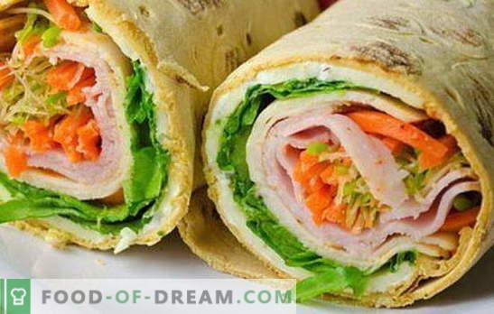 Različne zalivke za pita kruh: ostre in mehke. Izbor možnosti polnjenja za pita za vse priložnosti
