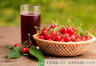 Cherry kompot - najboljši recepti. Kako pravilno in okusno kompot iz češenj.