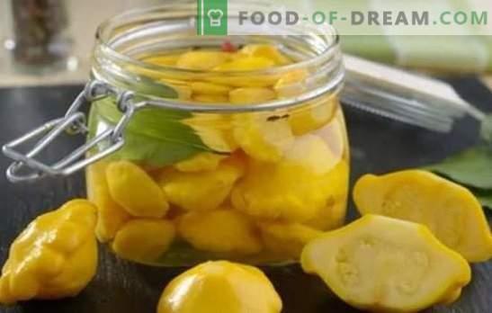 Squash: hitri in okusni recepti za zimo. Najboljši hitri recepti za okusne squash za zimo