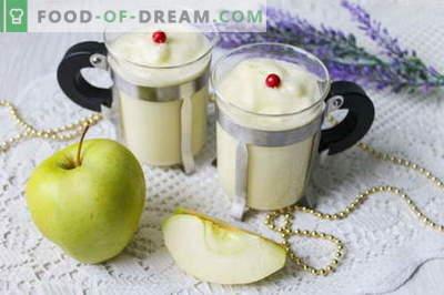Desertna jabolčna krema - zračna evforija okusa!